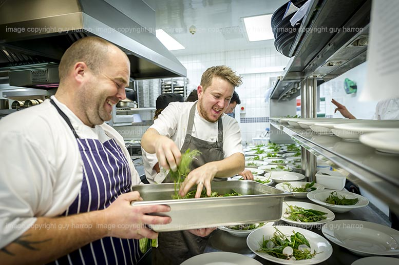 Photo by Guy Harrop. Pic of Trencherman's awards event at Rick Stein's seafood restaurant, Padstow. image copyright guy harrop info@guyharrop.com 07866 464282