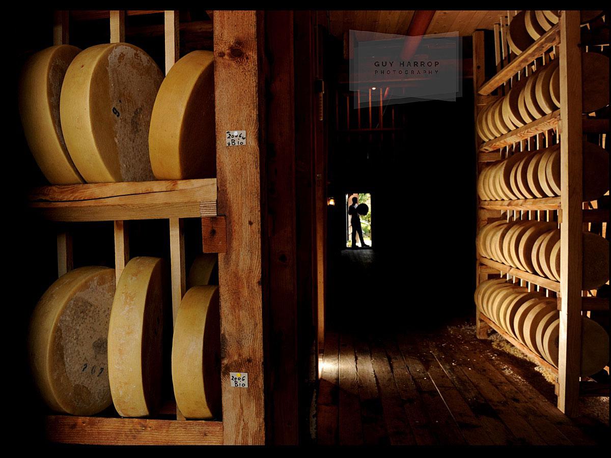 etivaz gruyere cheese photo © Guy Harrop 2021