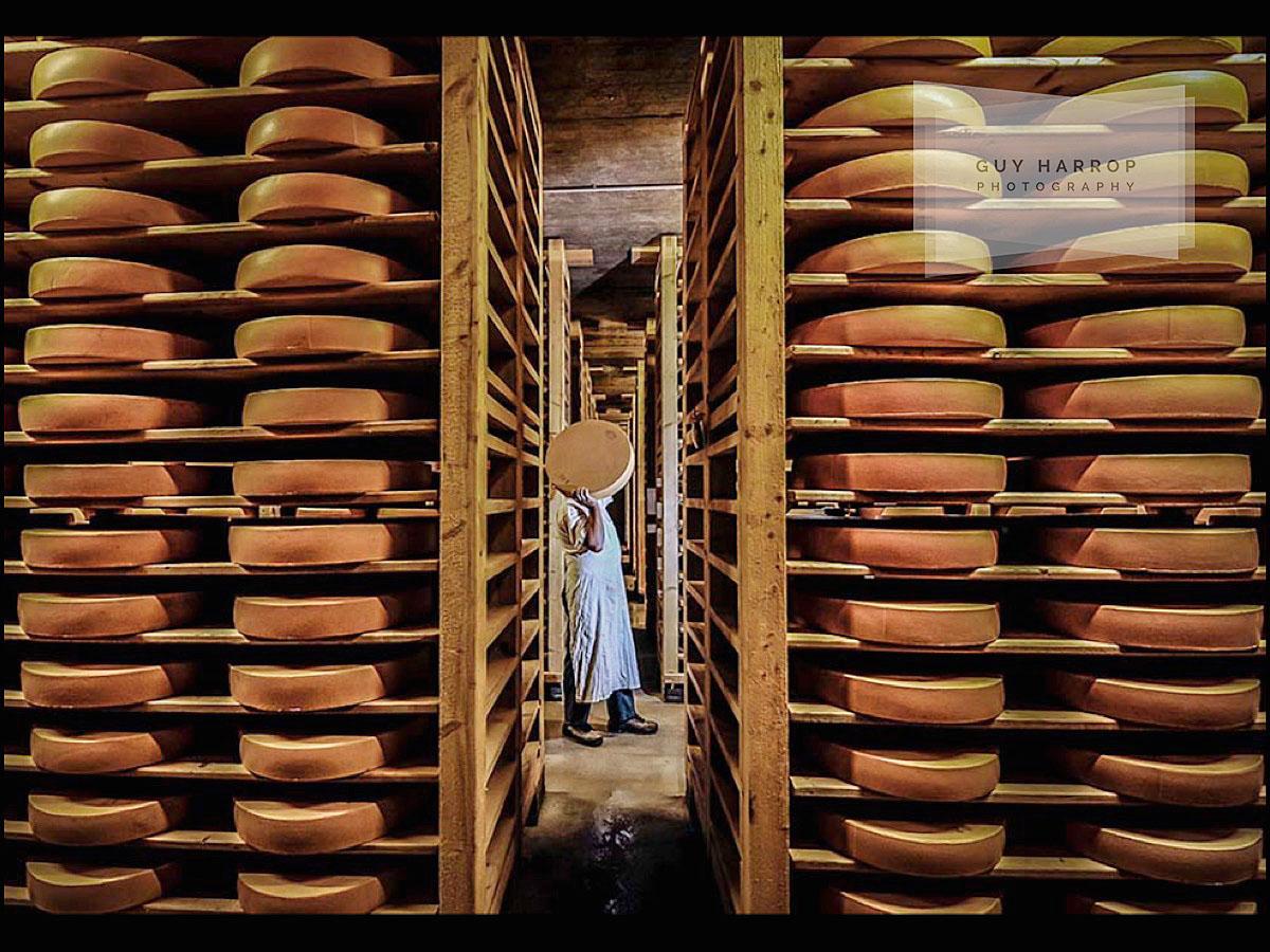 swiss gruyere cheese photo © Guy Harrop 2021
