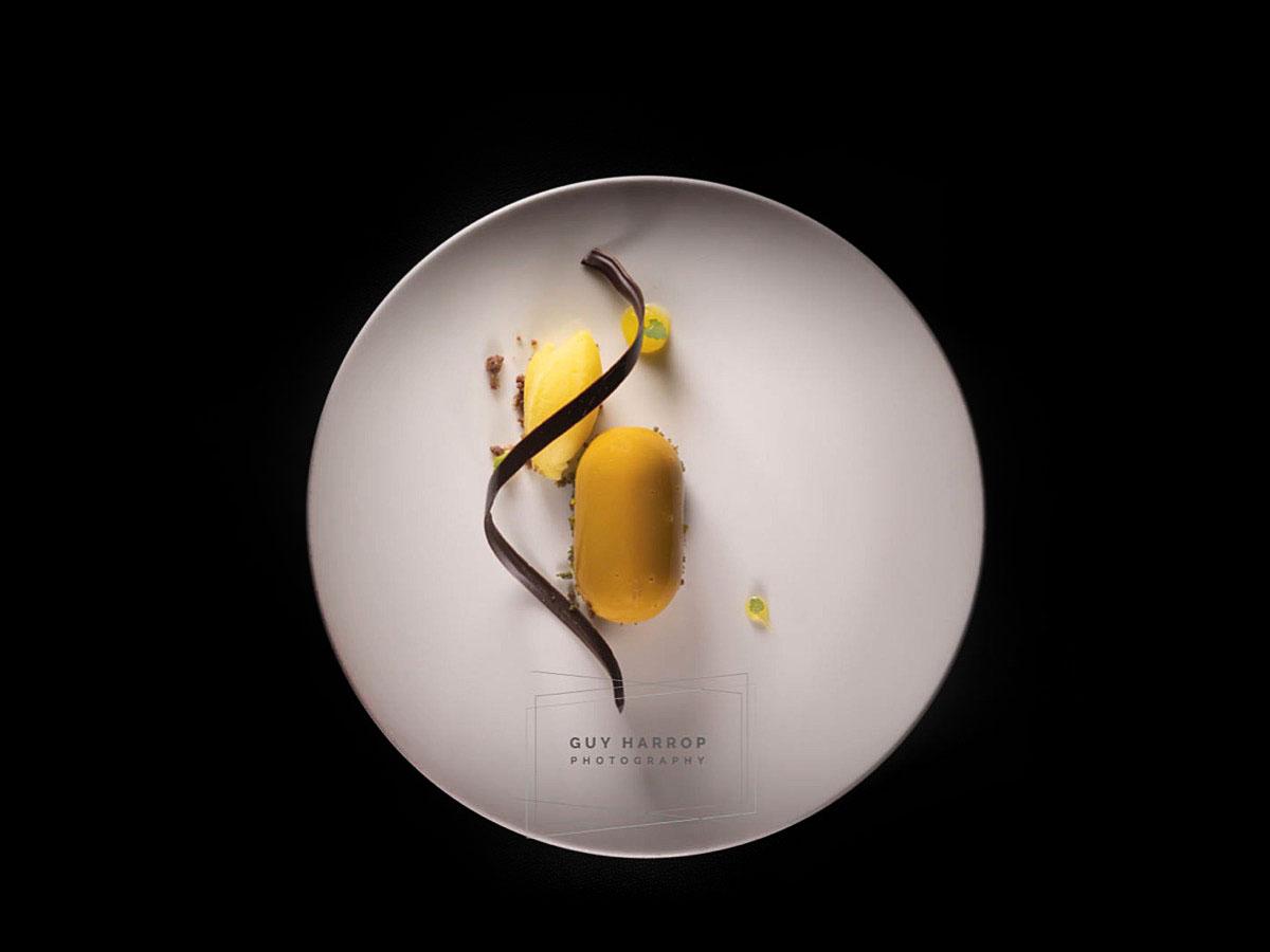 photo of a restaurant dessert © Guy Harrop 2021