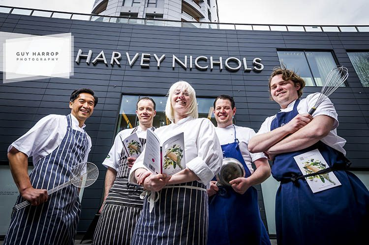 Photo by Guy Harrop. Pic of Trencherman's guide launch and lunch event at Harvey Nichols in Bristol image copyright guy harrop info@guyharrop.com 07866 464282