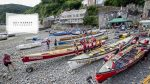 gig racing in Clovelly, Devon
