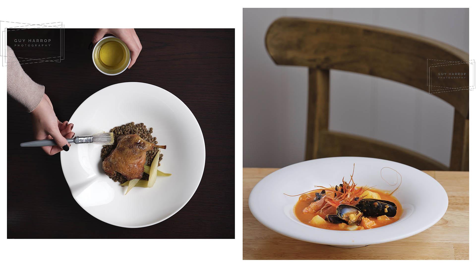 restaurant photography © Guy Harrop 2021