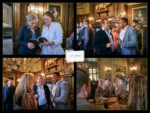 reception drinks Trencherman's launch